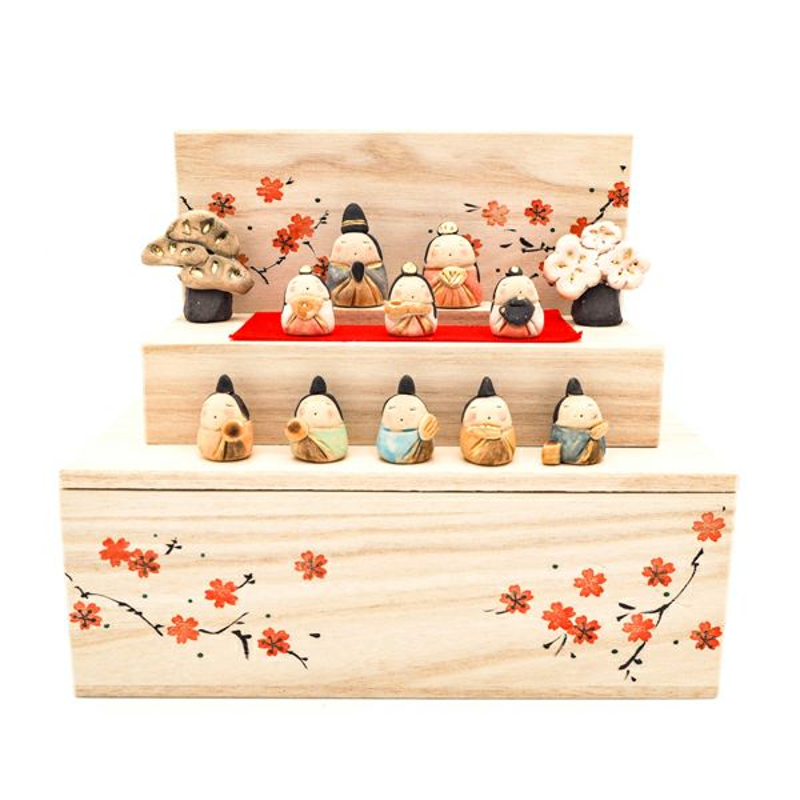 花木箱 雛段飾り