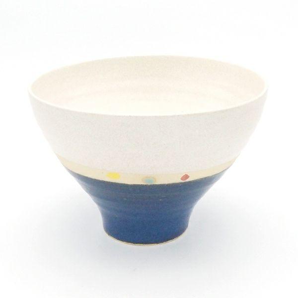 ROKURO鉢 大 掛分 青