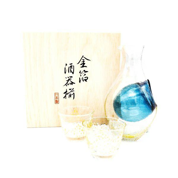 酒グラスコレクション 冷酒セット 金箔