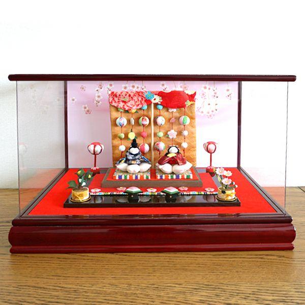 桜雛(アクリルガラスケース付)