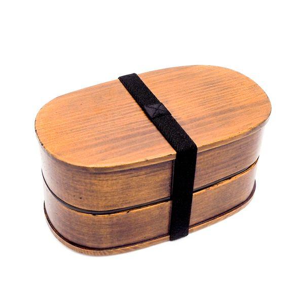 メンズ小判弁当 木製 スリ漆