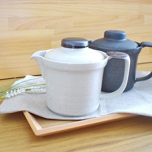 明泉窯 癒しの茶の間に新洗いやすい 粉引ポット