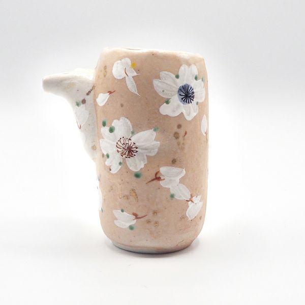 和田一人さんの薄墨桜 片口半酒器