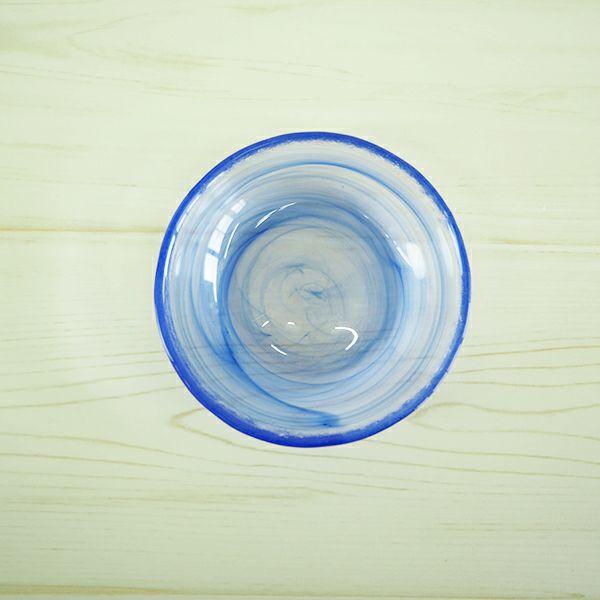 ORIBEトレーディング 流水小皿 ブルー