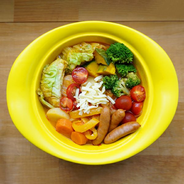 minottery 土鍋 黄