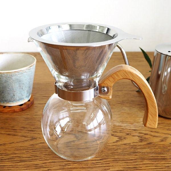 ブリュ-コーヒー耐熱ドリッパ-セット400ml