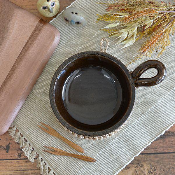 長谷製陶 アヒージョパン アメ