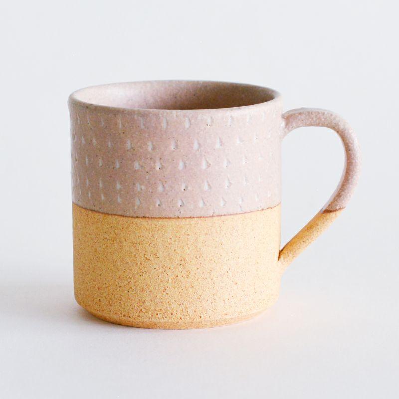 minottery焼〆マグ ピンクドット
