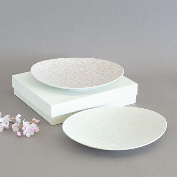 銀彩桜組皿