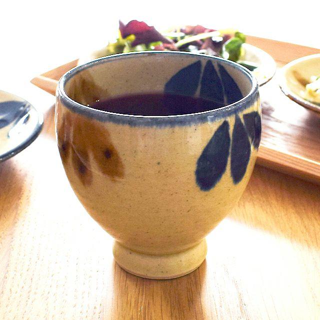 琉球三彩ワイン大 三つ葉