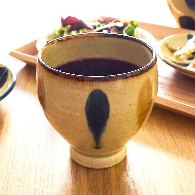 琉球三彩ワイン大 しずく