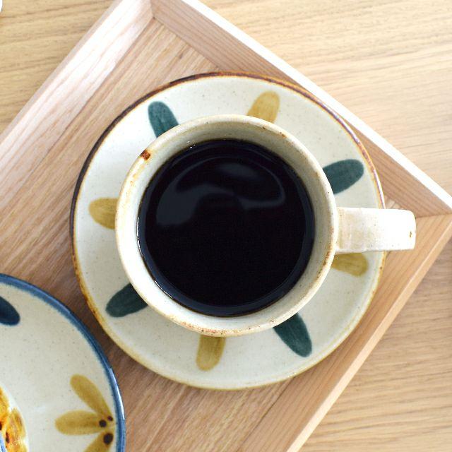 琉球コーヒー丸皿大 しずく
