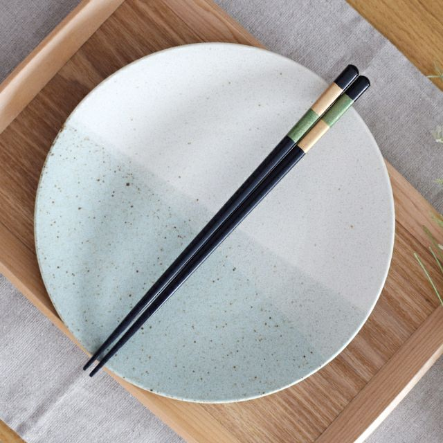 夕凪箸 緑